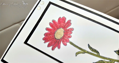 Rhapsody in craft, Rhapsodyincraft, Real Red, Daisy Lane, Here's A Card, Ornate Floral 3D Embossing Folder, Embossing Folders, Stampin' Blends, Friendship Cards, #colourcreationsshowcase, Stampin' Up, Annual Cataloge 2020-21, Jan-June Mini 2021