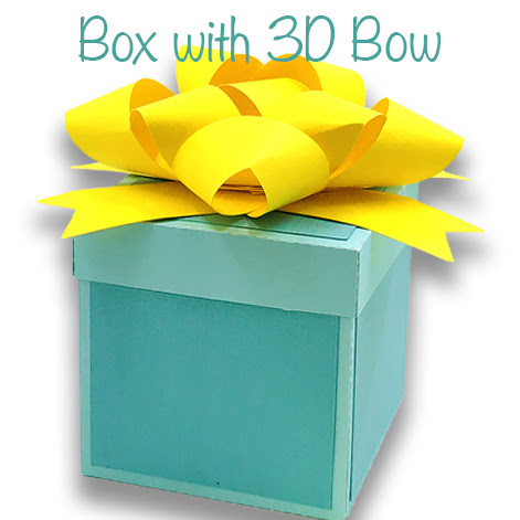 Square Box with 3D Bow