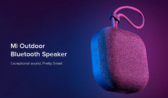 Water Resistant wireless Bluetooth Speaker by Xiaomi with 20 hour battery backup