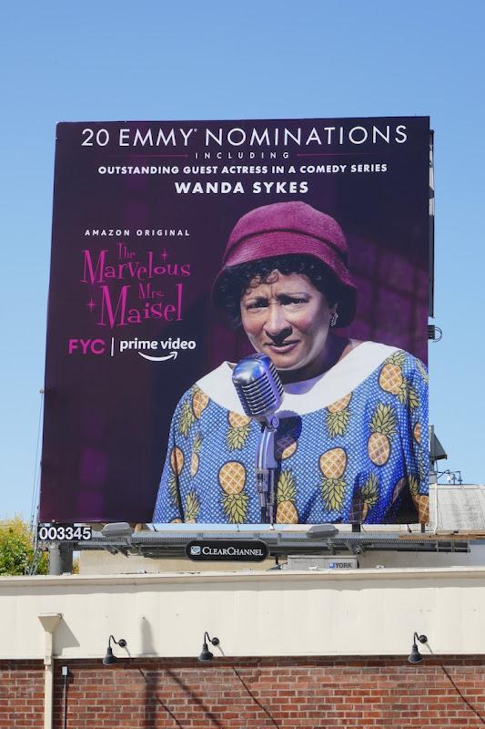 Wanda Sykes Mrs Maisel Emmy nominee billboard