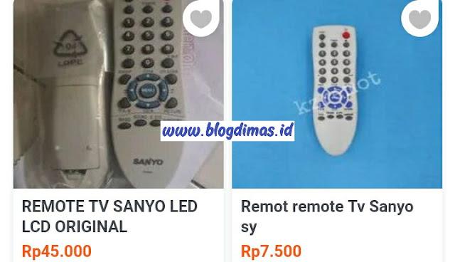 Kode Remot TV Sanyo LENGKAP LCD Dan Tabung Beserta Panduan Setting