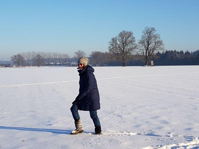 Winterwonderland Winterlandschaft Sunny