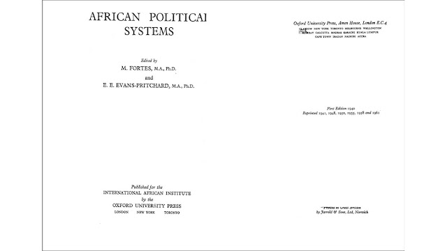 PDF Download African Political Systems written by M Fortes