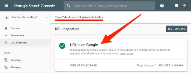 mendaftarkan blog ke mesin pencari atau index