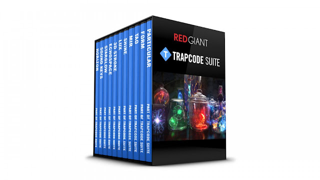 فلاتر Red Giant Trapcode Suite 15.1.3 للافتر افكت ويندوز 64