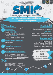 Sebelas Maret Investment Championship (SMIC) 2018