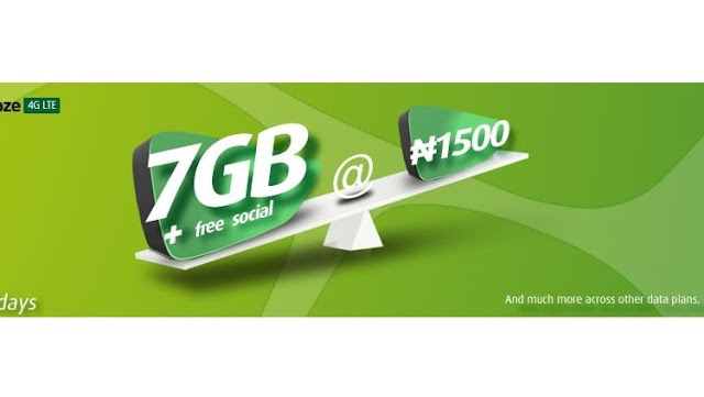 See 9mobile 7GB For N1500 Data Plan