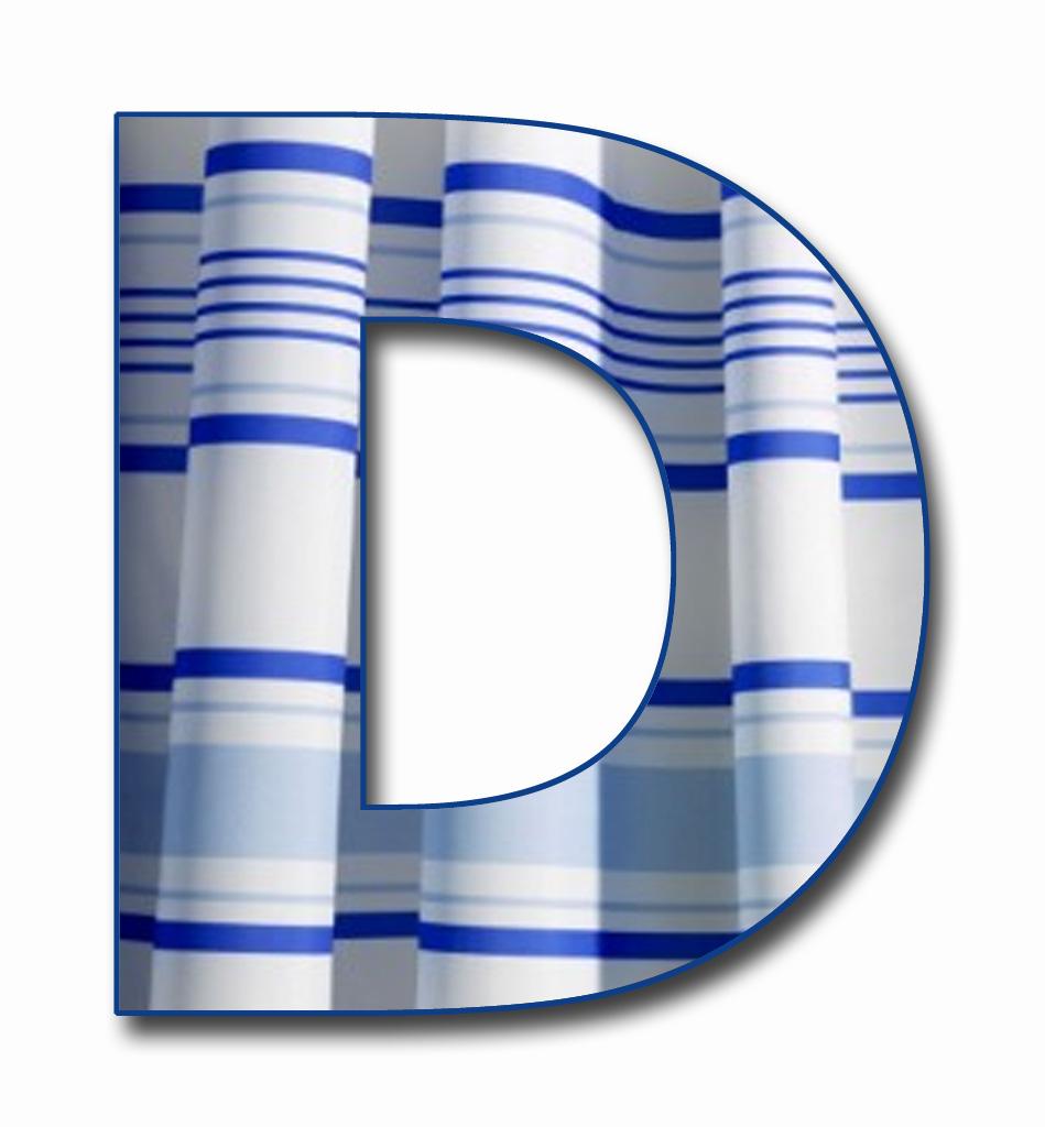 "Scrapbook Alphabet: ""Blue Stripe"" JPG & PNG Free Scrapbook ..."