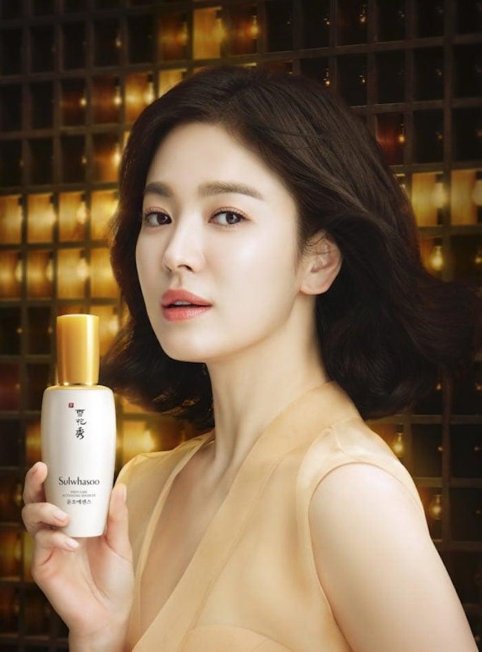 Song Hye Kyo Sulwhasoo, Sulwhasoo First Care Activating Serum, Sulwhasoo, Sulwhasoo Song Hye Kyo