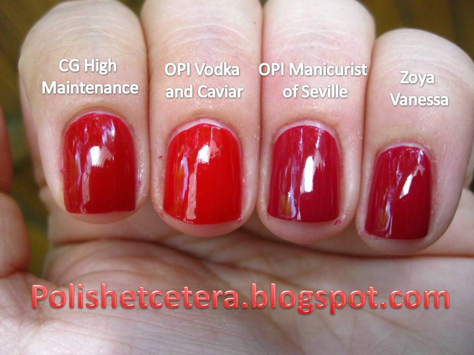 Opi Nail Polish High Maintenance | Hession Hairdressing