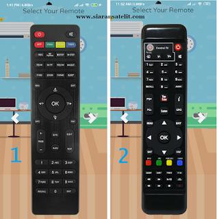 Aplikasi Remote Digital Parabola TV