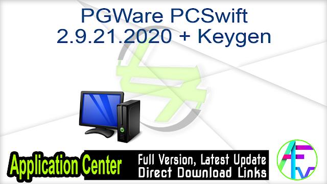 PGWare PCSwift 2.9.21.2020 + Keygen