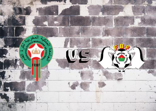 Marruecos vs Burkina Faso  Resumen