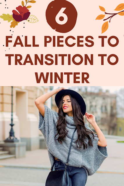 6 Statement Pieces to Transition Wardrobe to Winter