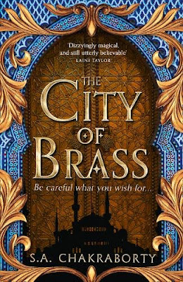 The City of Brass by S. A. Chakraborty Daevabad Trilogy Harper Voyager cover Fairyloot exclusive edition