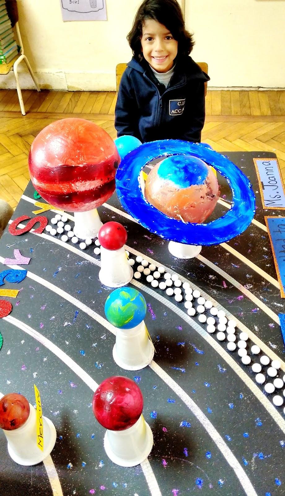 Miss Joanna's Class: Ali's 3D Solar System Model