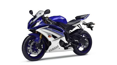 2016 Yamaha YZF-R6 premium supersport bike blue