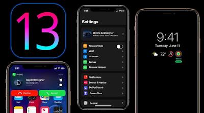 كيفية التحديث الآيفون لنظام آي أو إس iOS 13 من الاعدادات  كيفية التحديث الآيفون إلى iOS 13  كيفية تحديث نظام التشغيل على هاتفي آيفون إلى iOS 13