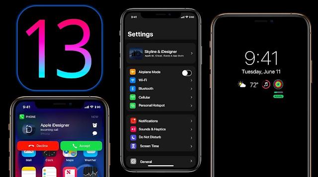 كيفية التحديث الآيفون لنظام آي أو إس iOS 13 من الاعدادات