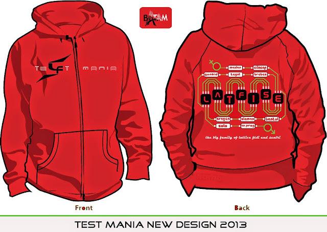 Didesak Komunitas Buat Desain Jaket Test Mania 2013