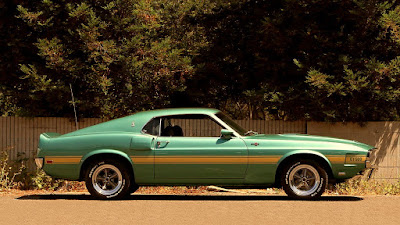 1969 Ford Mustang Shelby GT500 Fastback 428 Ram Air Cobra Jet Side Right