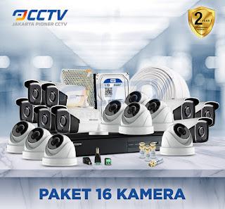 Paket CCTV 16 CAMERA