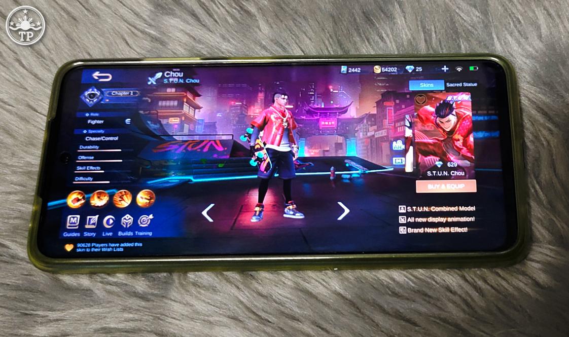 Mobile Legends Bang Bang STUN Skin Chou