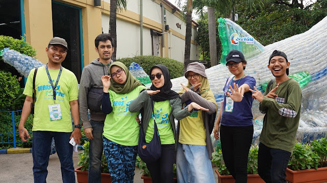 Team Teens Go Green Indonesia at Seaworld Ancol 2019