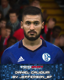 PES 2017 Faces Daniel Cagliuri by FaceEditor Jefferson_SF