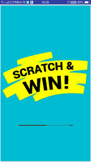 Earning Aia File - Scratch and Win App for Kodular - Opening Screen