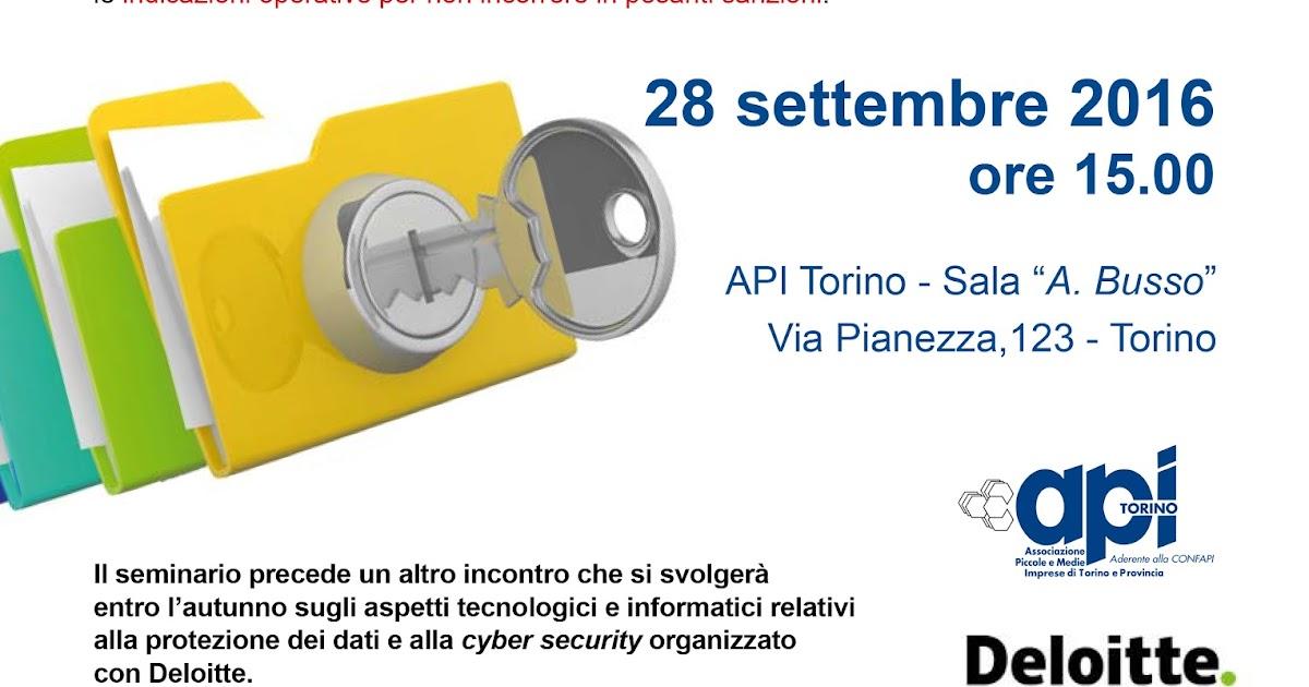 Seminario: protezione dei dati gli obblighi delle aziende