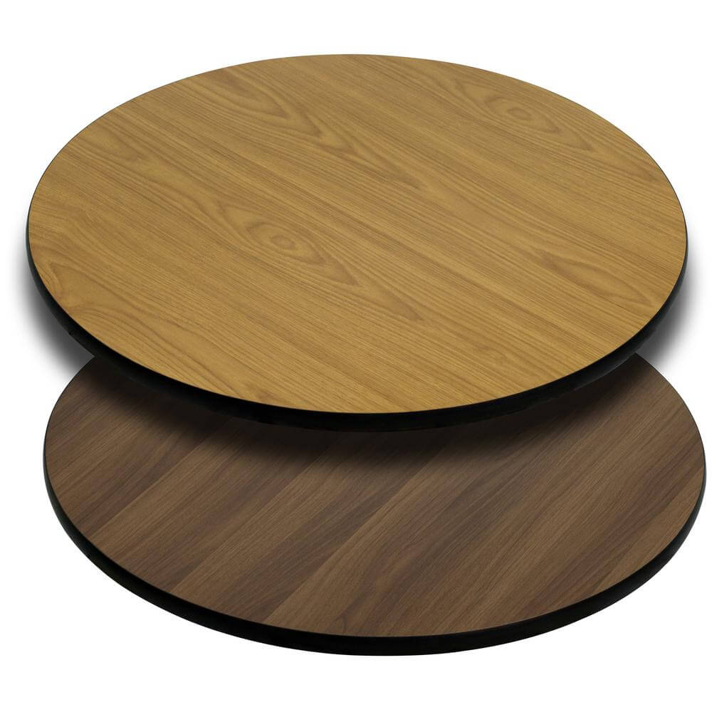 Unfinished Round Wood Table Tops