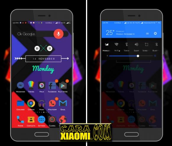 MIUI Theme ReMIx Cool Awesome Tema Keren Material Terbaru untuk Xiaomi