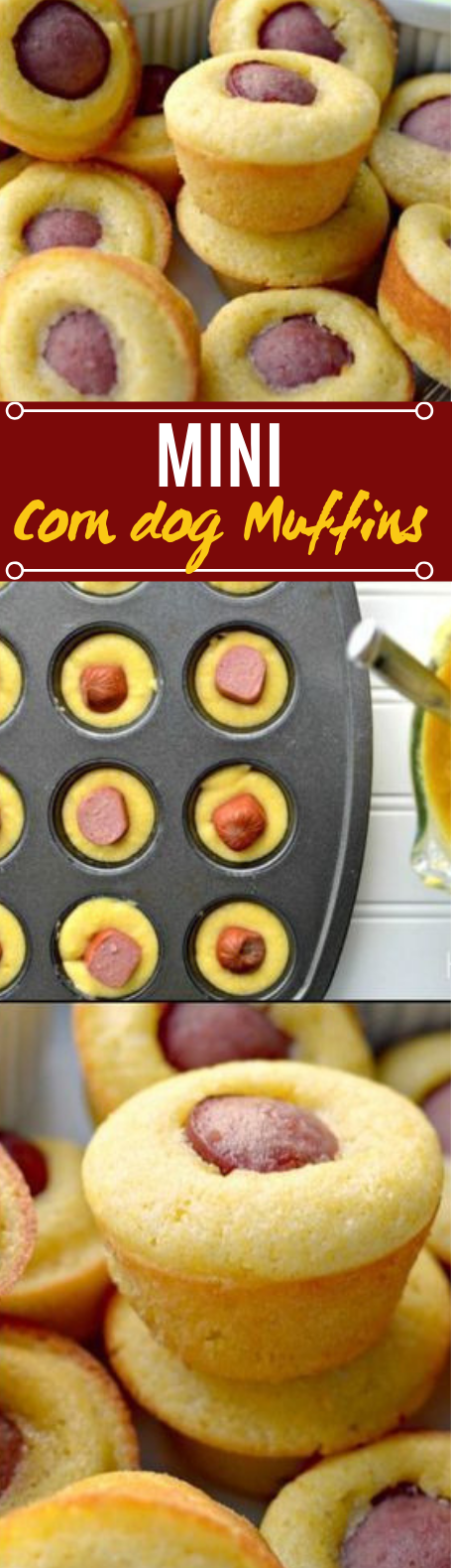 Mini Corn Dog Muffins #snacks #appetizers