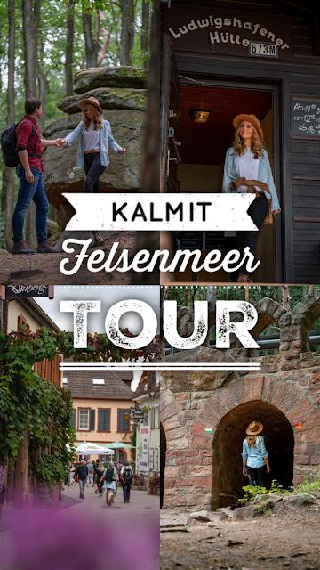 Kalmit-Felsenmeer-Tour | Maikammer - St. Martin | Wanderung Südliche Weinstraße