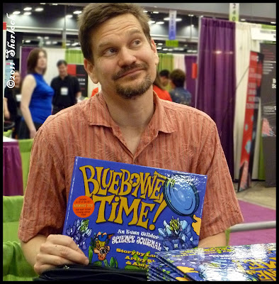 Lucas Miller with Bluebonnet Time book