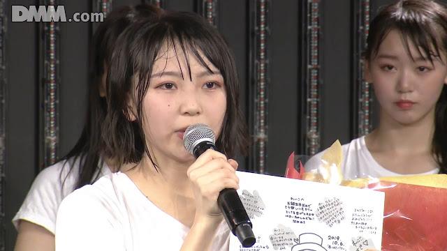 NMB48 'Yume wa Nigenai' 191006 RS8 1500 LOD DMM (Maeda Reiko Birthday)