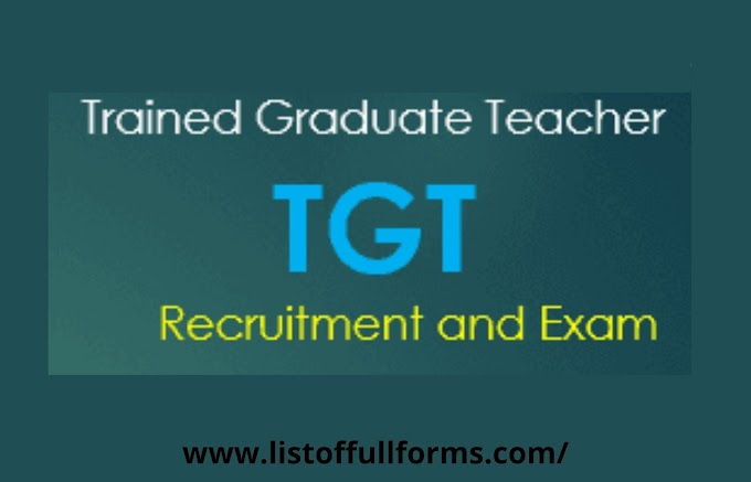 TGT full form
