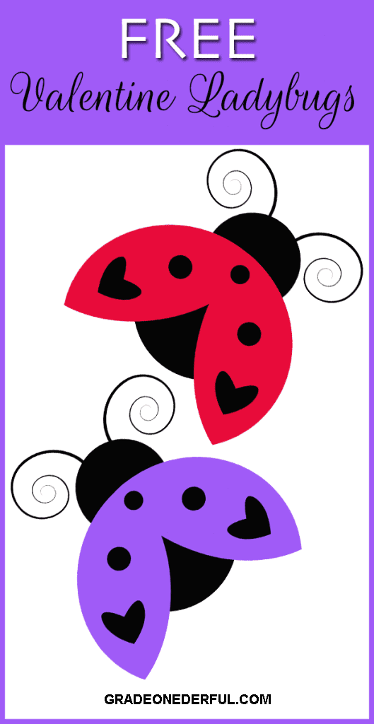 14 Days of Valentine Clip Art Freebies. FREE Valentine Ladybugs Clipart by Grade ONEderful. This is Day 11 of 14 days of Valentine FREEBIES.