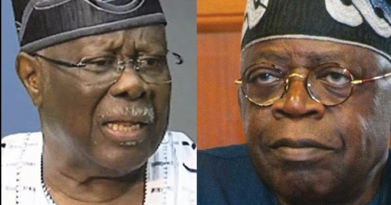 Bode George Tackles Tinubu ,Says He'll Vomit Everything He Has Stolen