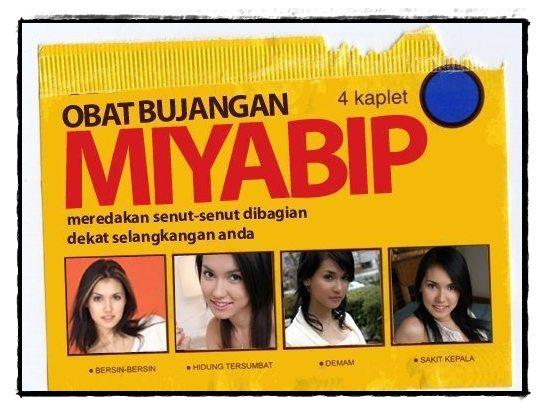 Plesetan Obat Mixagrip - Miyabi | Gambar PleSetan