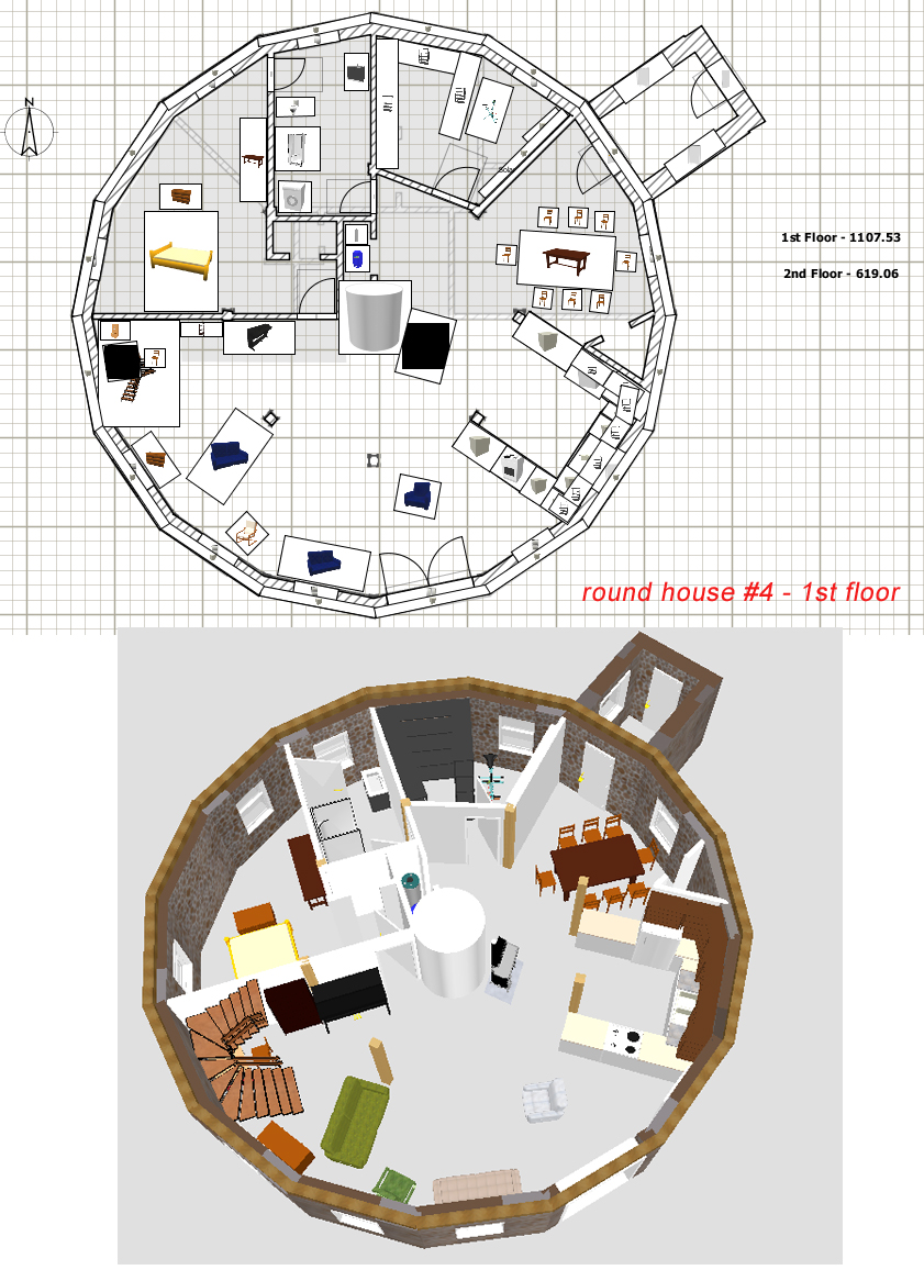 Stone Table Farm: House Plans
