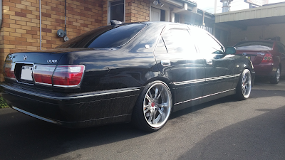 "4x 19"" SSR Vienna Merisia Wheels Fitted to JZS171 Crown Rear RHS"