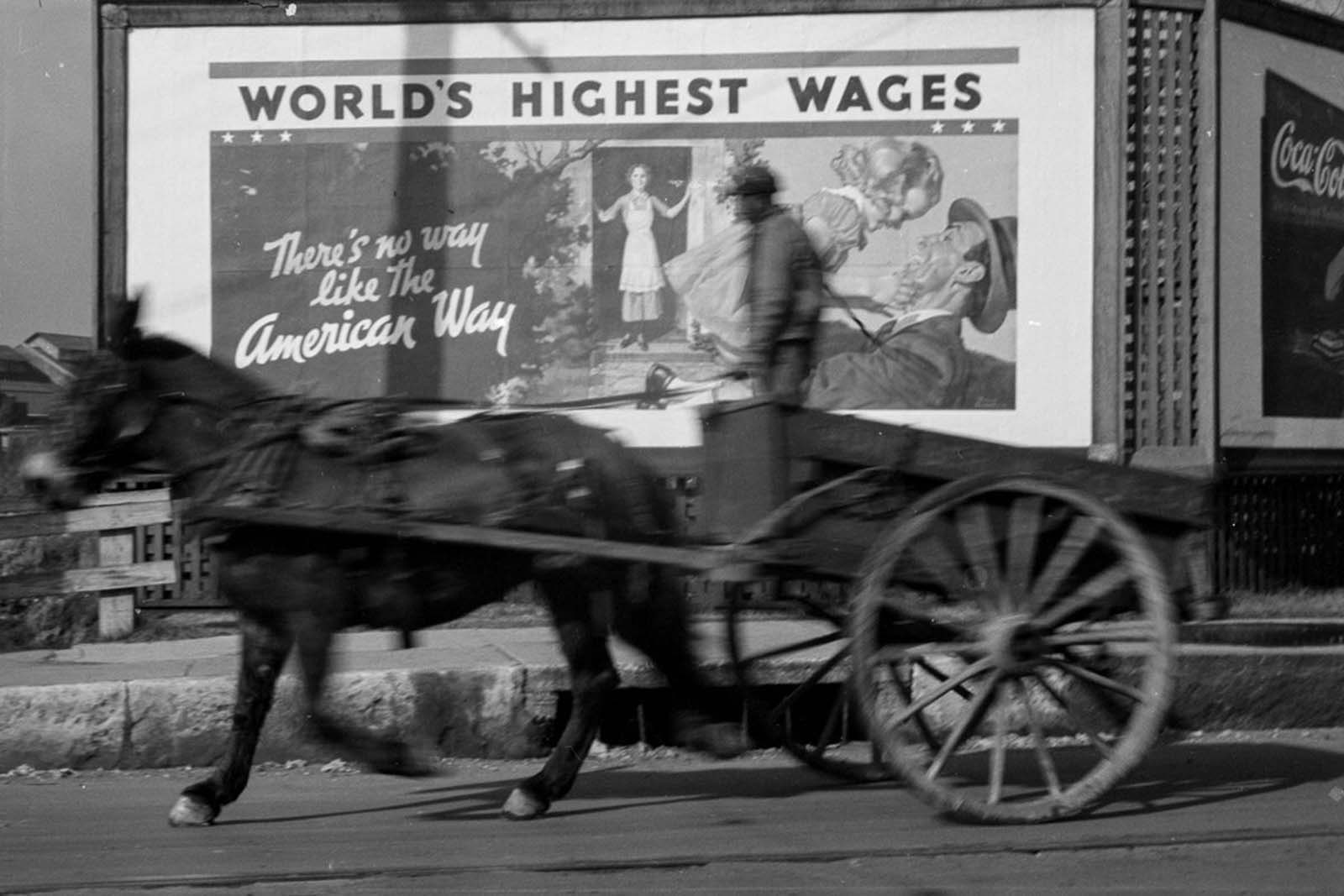 Las vallas publicitarias que vendieron el American Way, 1937-1940