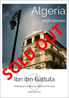 Ibn Ibn Battuta's Algeria 2016 Wall Calendar