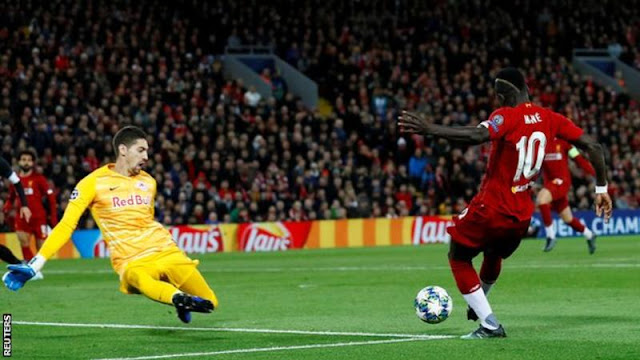 Champions League: Liverpool defeat RB Salzburg in a stunning fightback