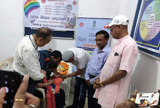 विधायक पटेल ने बच्चों को टीकाकरण खुराक पीलाकर किया अभियान का शुभारंभ