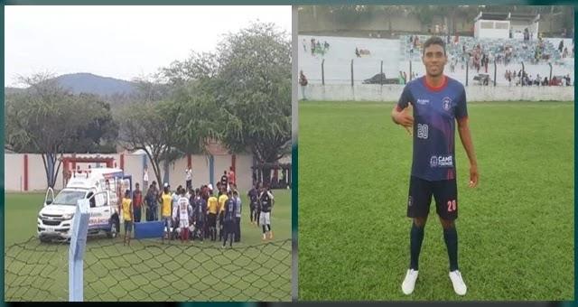 Um fato triste marcou o domingo (29) que definiu os confrontos da segunda fase do Intermunicipal 2019. Aos 22 anos, o jogador Rodrigo Itiúba