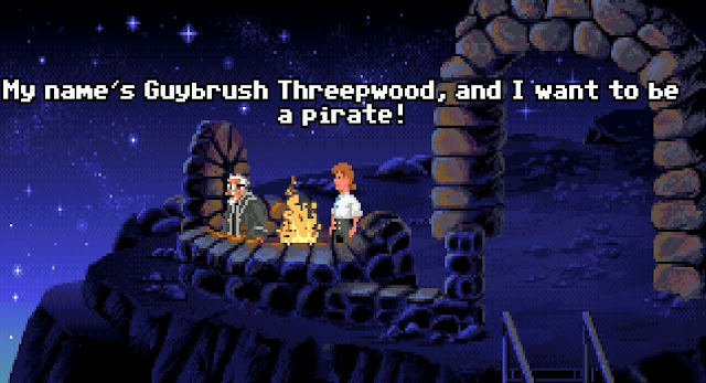 Screenshot from The Secret of Monkey Island