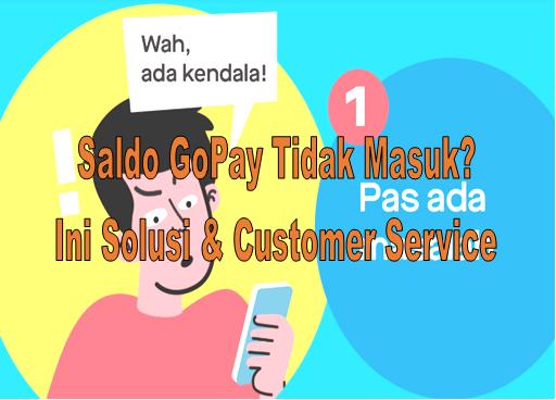 Saldo Gopay Tidak Masuk Ini Solusi Dan Customer Service Ropini Xyz